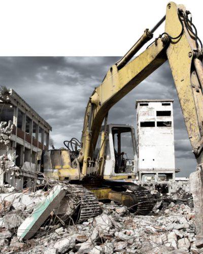 Maszyny i narzędzia do efektywnego wyburzania