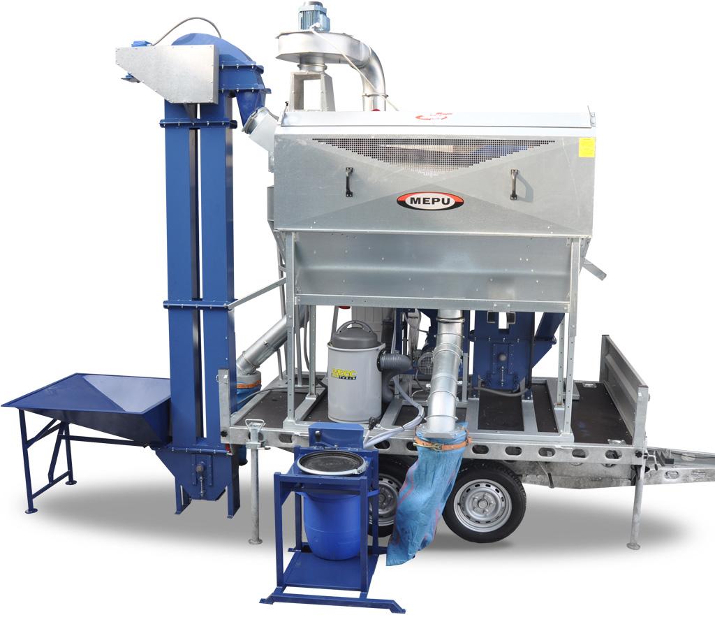 Wspaniały Mobilna maszyna czyszcząco zaprawijąca PMN1000 | Serafin Maszyny WQ45