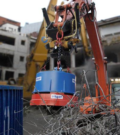 Magnesy DYNASET - do wyburzeń i recyklingu