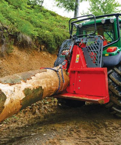 Krpan - lider w produkcji wciągarek leśnych