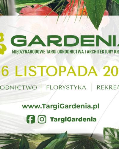 Do zobaczenia na targach Gardenia 2021